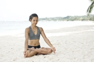 Padmasana. Photo by Denise Tolentino