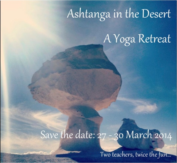 Event Teaser... Ashtanga in the Desert: A Yoga Retreat