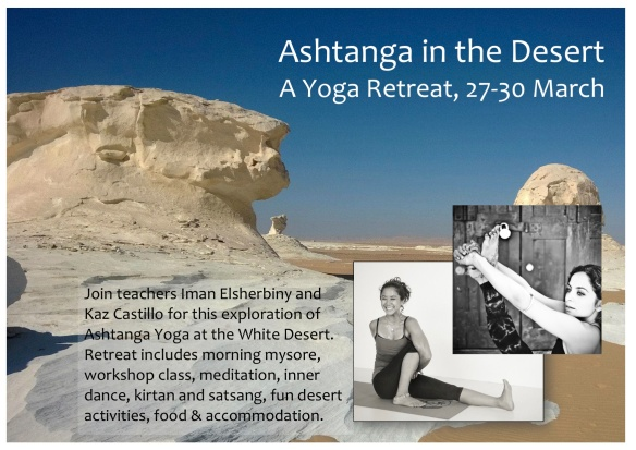 Ashtanga in the Desert - Iman & Kaz