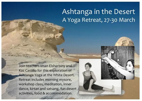 Ashtanga in the Desert - Iman & Kaz