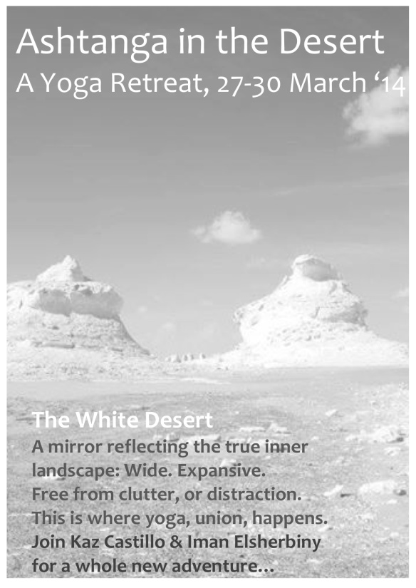 Ashtanga in the Desert - The White Desert